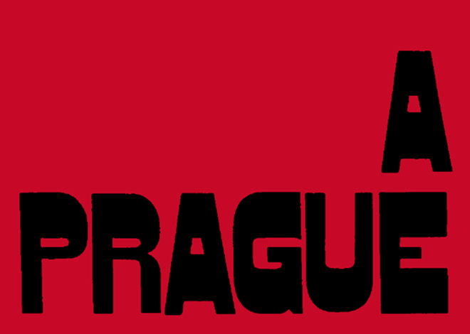 A Prague Night Cover red